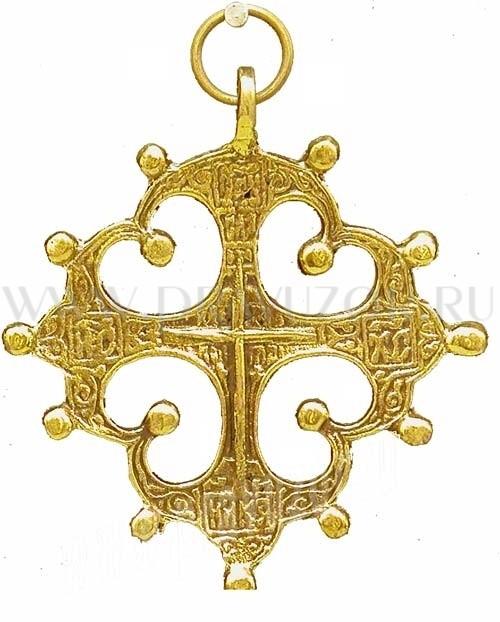 Православный нательный крест №