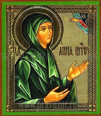 Икона: Св. Анна Пророчица