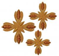 Кресты ручной вышивки №Д130