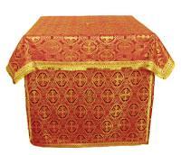 Облачение на престол из шёлка Ш2 (красный/золото)