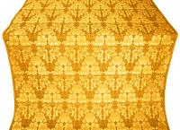 "Парча ""Самоцветы"" (жёлтая/золото)"
