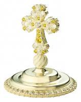 Крест на митру ювелирный - A614 (серебрение)