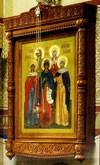 """Церковные киоты: Резной напольный киот """"Софийский"""""""