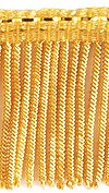 Металлизированная бахрома - 40