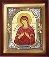Православная икона: Семистрельный образ Пресвятой Богородицы - 3