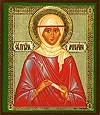 Икона: Св. праведный Ангелина