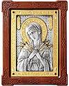 Икона Пресв. Богородицы Всецарица Семистрельная - А87-6