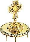 Крест на митру ювелирный - А472 (золочение)
