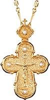 Крест наперсный ювелирный №151