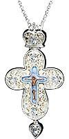 Крест наперсный ювелирный №141