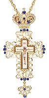 Крест наперсный №152 blue
