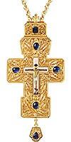 Крест наперсный с украшениями №026
