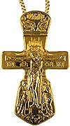 Крест наперсный - А22 (с цепью)
