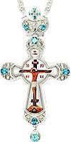 Крест наперсный - А121L (с цепью)