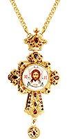 Крест наперсный - А129 (с цепью)