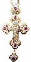 Крест наперсный ювелирный №132