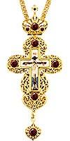 Крест наперсный - А133 (с цепью)