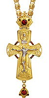 Крест наперсный с цепью №0136