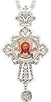 Крест наперсный - А141L (с цепью)