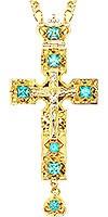Крест наперсный - А142LP (с цепью)