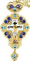 Крест наперсный с цепью №0150