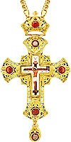 Крест наперсный - А153LP (с цепью A1)