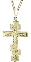 Крест наперсный иерейский с цепью - А212