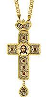 Крест наперсный с цепью - А277