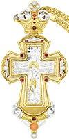 Крест наперсный с цепью №0317