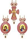 Набор для архиерея (крест и панагия) - 37