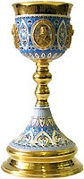 Богослужебный потир (чаша) - 44 (1.0 л)