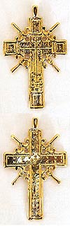 Православный нательный крест №180