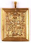 Православный нательный образок: Спас Вседержитель - 1