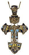 Наперсный крест-мощевик №0-72