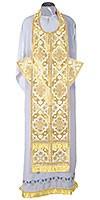 Требный комплект из шёлка Ш2 (белый/золото)