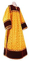 Стихарь клирика из парчи П (жёлтый/золото)