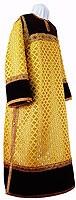 Стихарь клирика из парчи ПГ1 (жёлтый/золото)