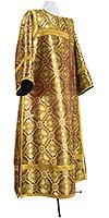 Стихарь клирика из парчи ПГ2 (бордовый/золото)