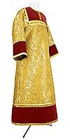 Стихарь алтарника из парчи ПГ1 (жёлтый/золото)