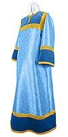 Стихарь алтарника из парчи ПГ3 (синий/золото)