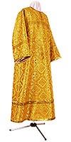 Стихарь детский из шёлка Ш3 (зелёный/золото)