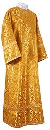 Стихарь детский из шёлка Ш2 (жёлтый-бордо/золото)