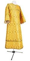Стихарь детский из шёлка Ш2 (жёлтый/золото)