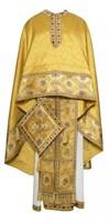Греческое иерейское облачение -  189 жёлтое/золото