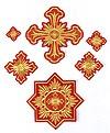 """Вышитые кресты """"Тихвин"""""""