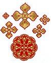 """Вышитые кресты """"Козельск"""""""