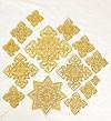 Кресты ручной вышивки №И-040