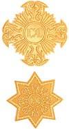 Кресты ручной вышивки №341