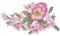 """Мастерская """"Православное узорье"""", вышивка: Яркий букет из розовых анютиных глазок."""