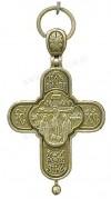 Православный нательный крест-мощевик №131